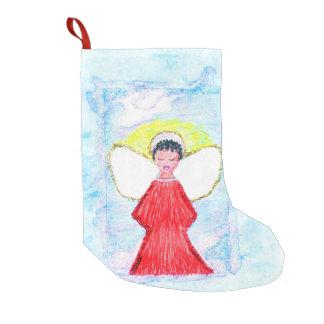 """Little Brown Angel"" stocking"