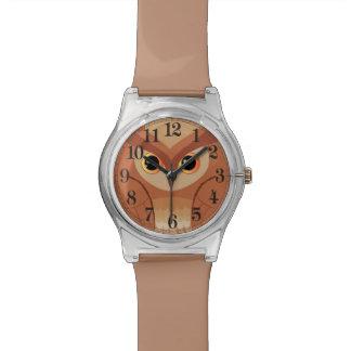 Little brown owl watch