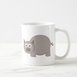 Little Brown Pig Mug