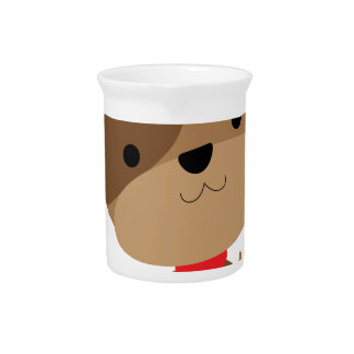 little brown pup pitcher