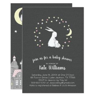 Little Bunny Baby Shower Invitation