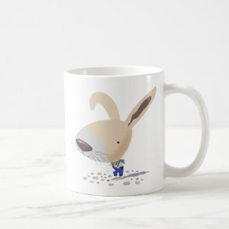 Little Bunny In Blue Pants Is Writing Mug
