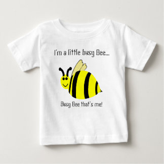 Little Busy Bee Yellow Bumble Bee Kids' Shirt
