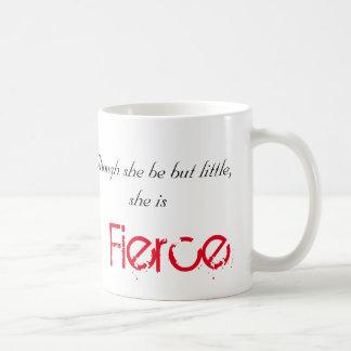 Little but Fierce - Shakespeare Coffee Mug