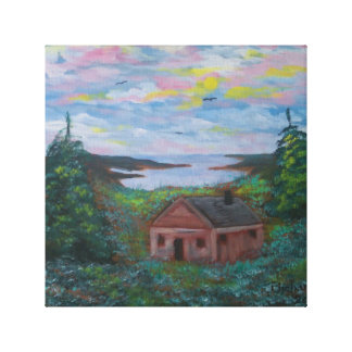 Little Cabin Canvas Print