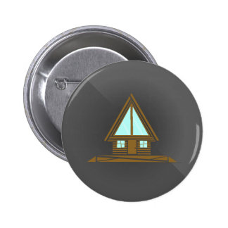 Little Cabin in the Woods Button