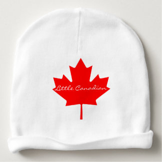 Little Canadian Custom Baby Cotton Beanie Baby Beanie