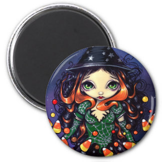 """Little Candy Witch"" Magnet"