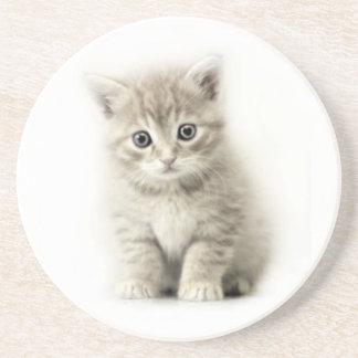 LITTLE CAT BEVERAGE COASTER