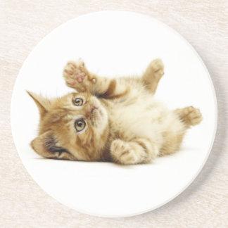 LITTLE CAT DRINK COASTER