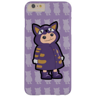 Little Cat Rain Coat Barely There iPhone 6 Plus Case