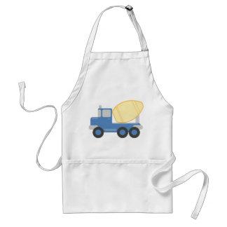 Little Cement Truck Standard Apron