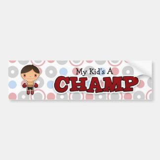Little Champ - Bumper Sticker - Boy