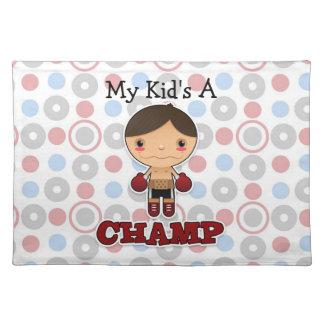 Little Champ - Placemats - Boy