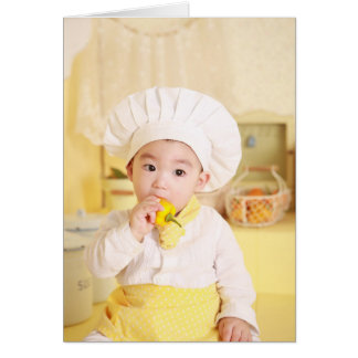 Little chef professional breakup card