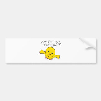 Little Chicken Bumper Sticker