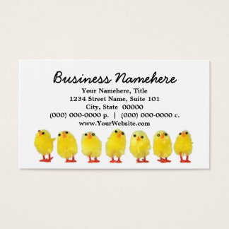 Little Chicks Business Cards