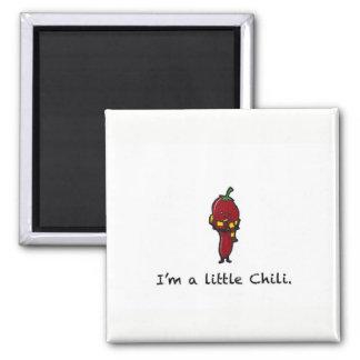 Little Chili Square Magnet
