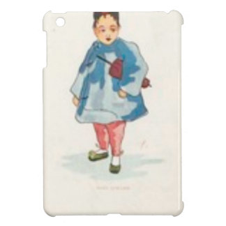 Little Chinese Girl Holding Umbrella Case For The iPad Mini