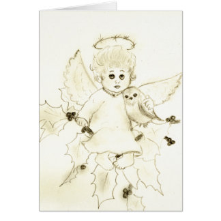 Little Christmas Angel Card