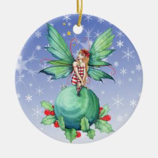 Little Christmas Fairy Ornament