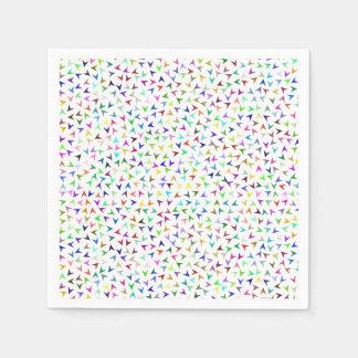 Little Colorful Arrows Disposable Napkin