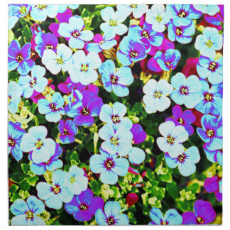 Little Colorful Flowers Napkin
