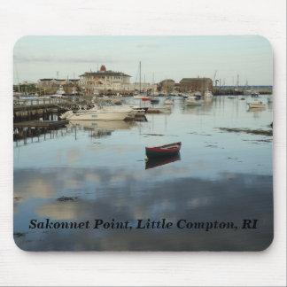 Little Compton, RI - Sakonnet Point, Harbor Mouse Pad