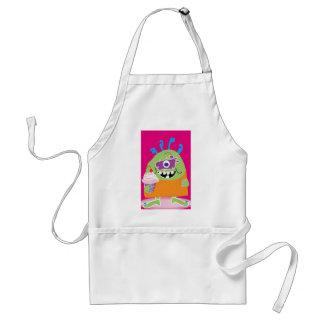 Little Cooking Monster Standard Apron