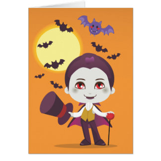 Little Count Dracula Card