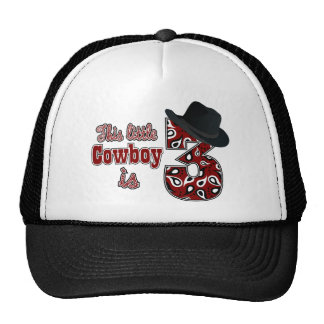 Little Cowboy 3rd Birthday Hat