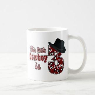 Little Cowboy 3rd Birthday Coffee Mugs