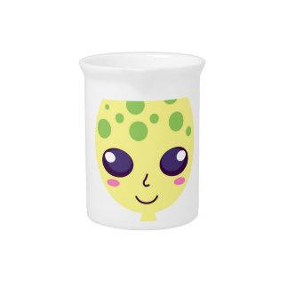 Little cute alien Green edition Pitcher