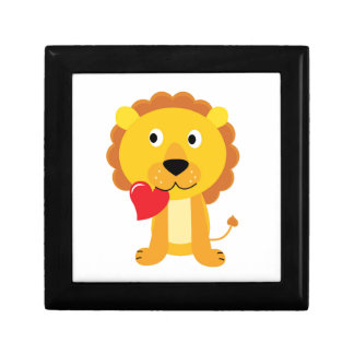Little cute Lion kids design Gift Box