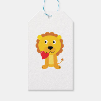 Little cute Lion kids design Gift Tags