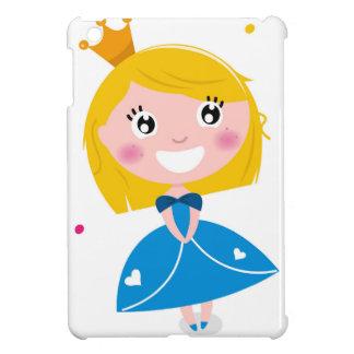 Little cute princess Blue iPad Mini Case