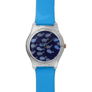 little cute whales wristwatch