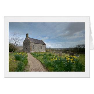 Little Daffodil Church | Greetings Card