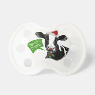 Little Dairy Farmer MOOrry Christmas Cow Dummy
