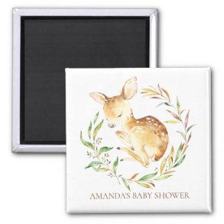 Little Deer Baby Shower Favor  Magnet