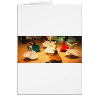 little dervishes greeting card