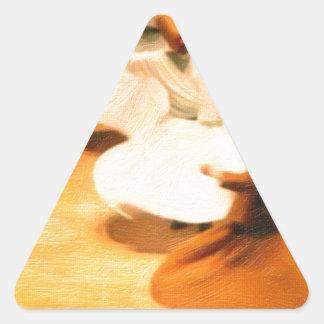 little dervishes triangle sticker