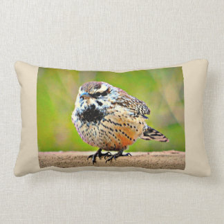 Little Desert Bird Throw Pillow