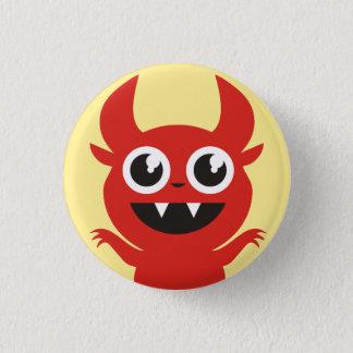 Little Devil Goes Raaah! 3 Cm Round Badge