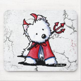 Little Devil Westie Mouse Pad