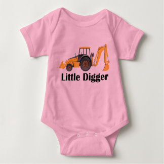 Little Digger - Baby Jersey Bodysuit Tshirt