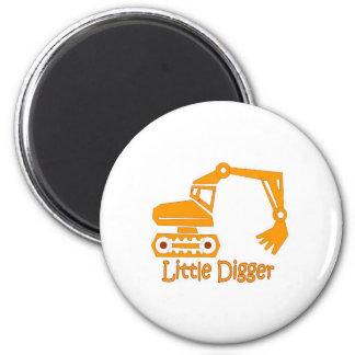 little digger refrigerator magnets