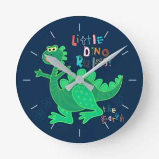 Little Dino rules Round Clock