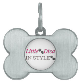 Little🐾Diva in Style🐾 Pet Name Tag