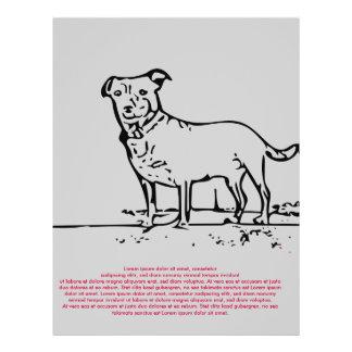 Little Dog 21.5 Cm X 28 Cm Flyer
